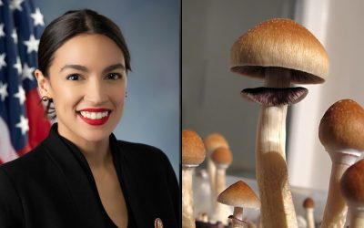AOC Says She'll Introduce More Psychedelics Legislation In Congress